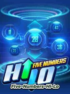 Five-Numbers-Hi-Lo dome